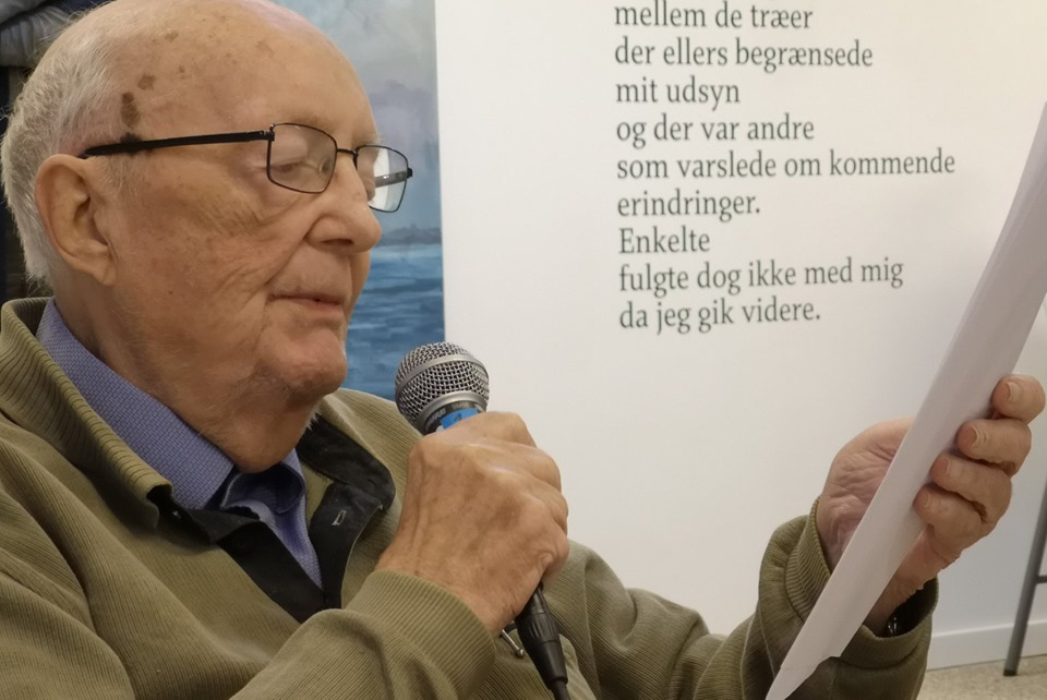 Knud Sørensen læser digte